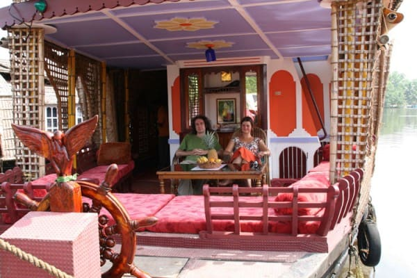 Our Keralan Houseboat was paid for by our 'Fun Budget'