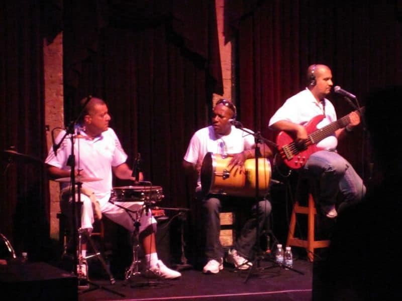 Samba Musicians in Rio