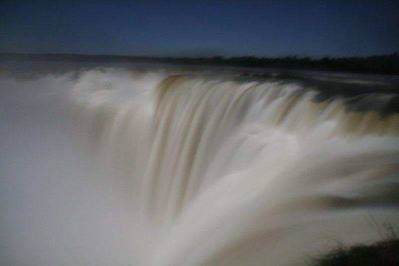 Iguazu Falls by Moonlight
