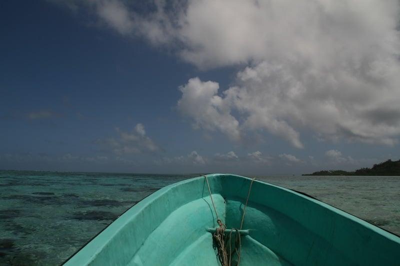 Boat trip to Caqalai Island