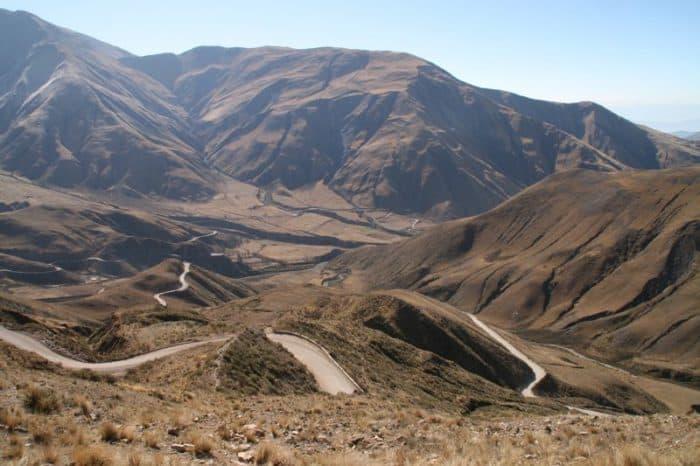 La Cuesta del Obispo, Cachi to Salta
