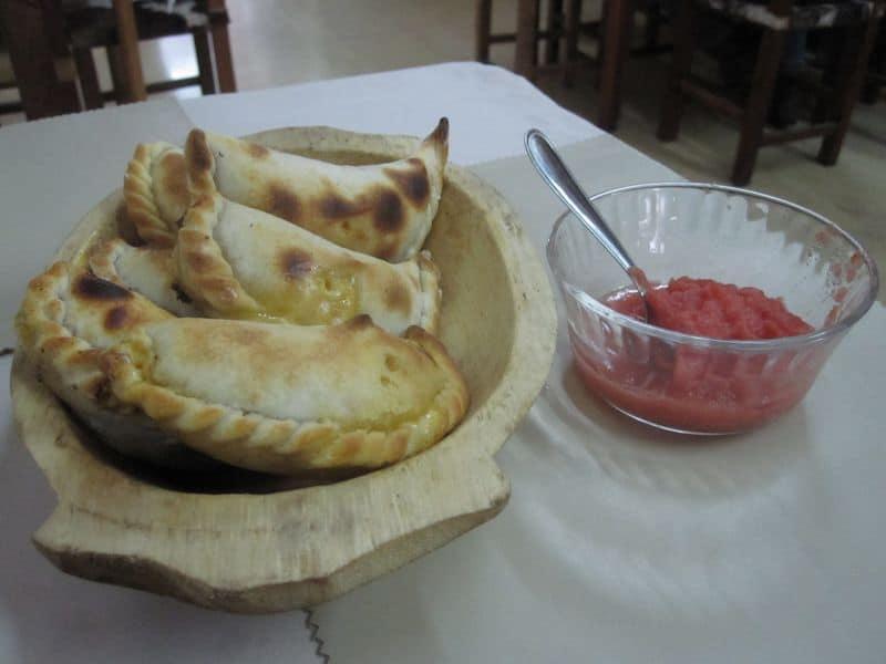 Argentine Empanadas and Aji, Salta