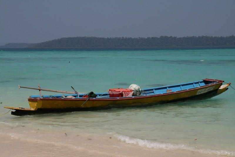 Havelock Island Fishing Boat