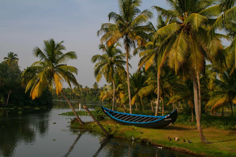 The backwaters of Kerala India