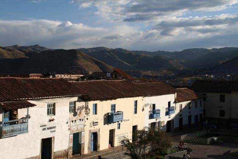 Plaza San Blas, Cusco, Peru