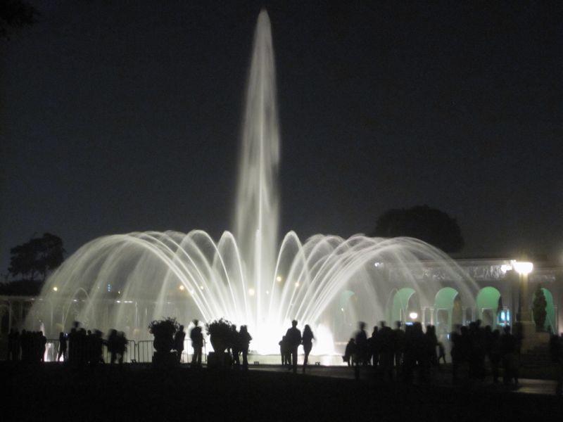 Fountain at Circuito Magico del Agua, Lima