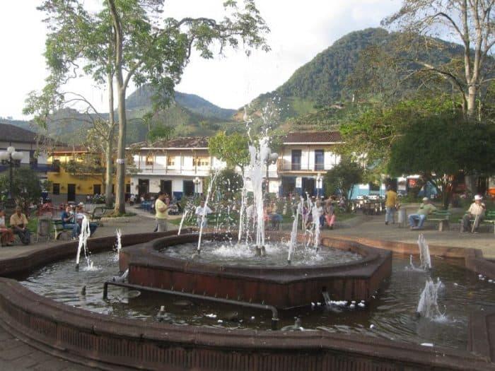 Jardin's plaza, Colombia