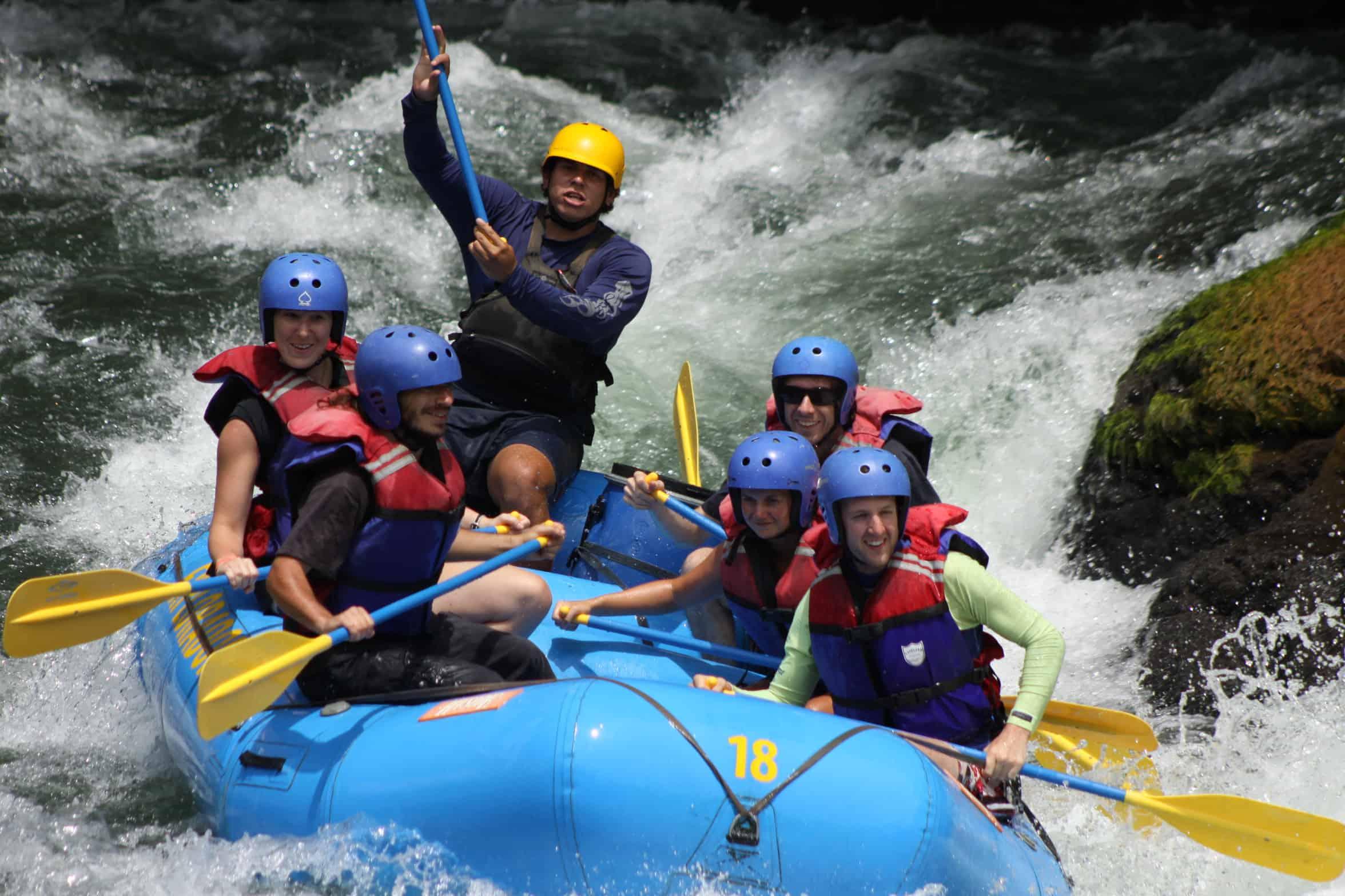 Rafting Rio Pacuare, Costa Rica