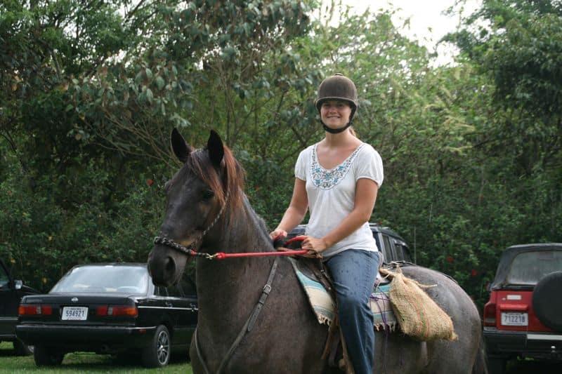 Erin_riding_Zorba
