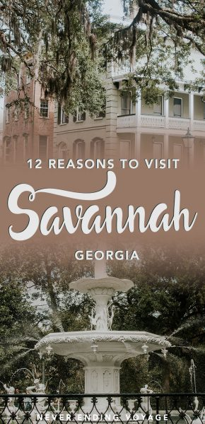If you're planning to travel the US, then Savannah, Georgia has to be on your list! Read on for 12 things we absolutely loved about this Southern city.