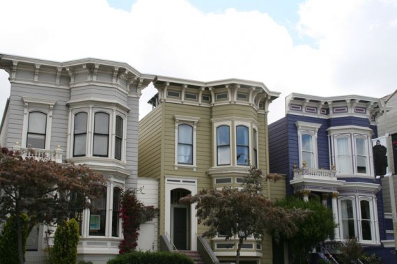 Colourful Houses, The Mission, San Francisco