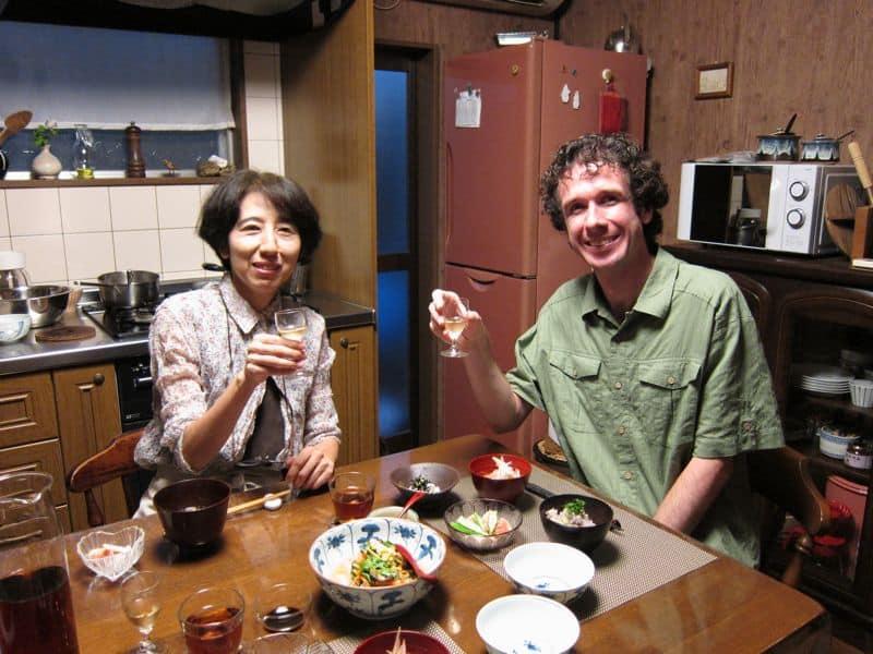 Uzuki Cooking Class meal