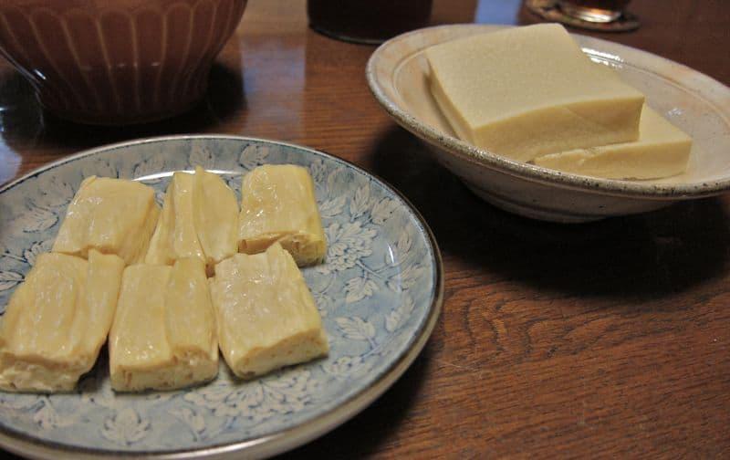 Yuba and koyadofu tofu, Kyoto
