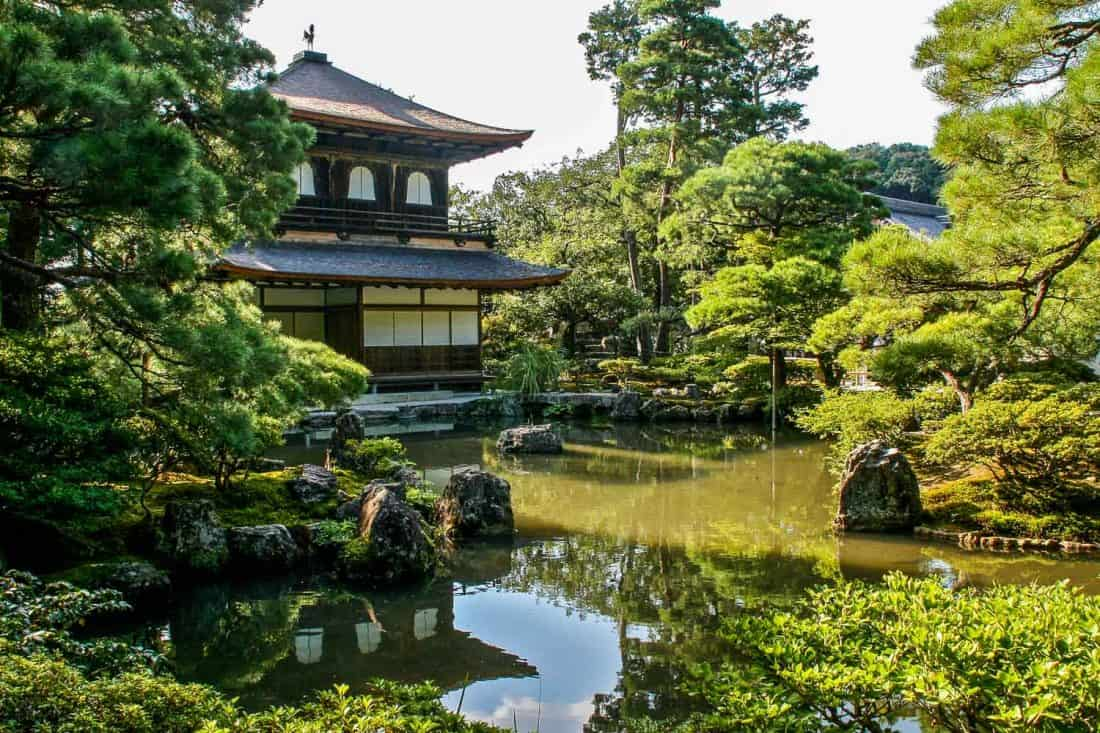 Ginkakuji Silver Pavilion, one of the best Kyoto temples