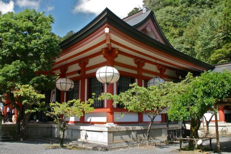 Kurama-dera, one of the best temples in Kyoto, Japan