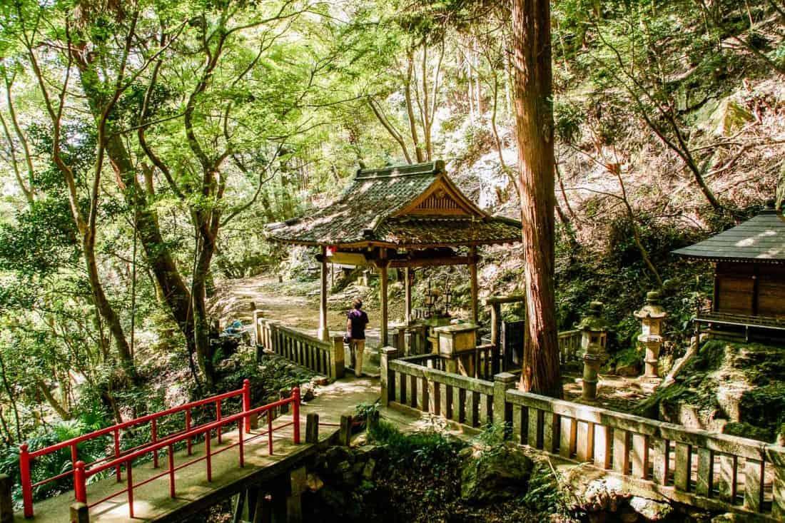 Nanzenji Okunoin, a Kyoto temple