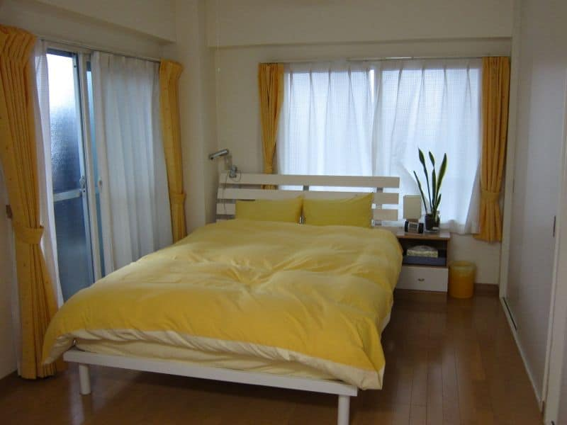 Tokyo apartment bedroom