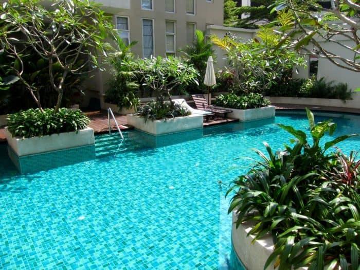 Twin Peaks Condo pool, Chiang Mai