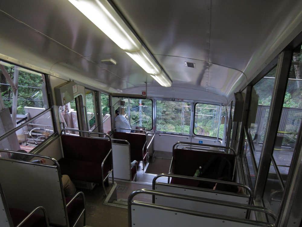 Koya-san cable car