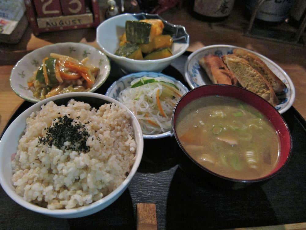 Set dinner at Mikoan, Kyoto