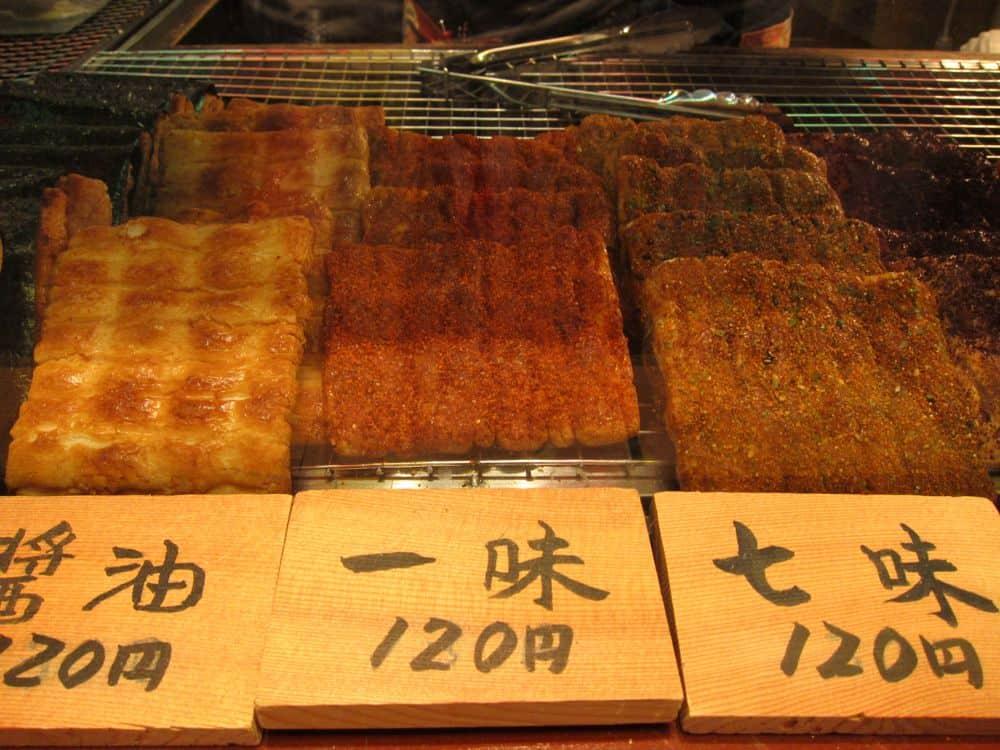 Chilli rice cakes