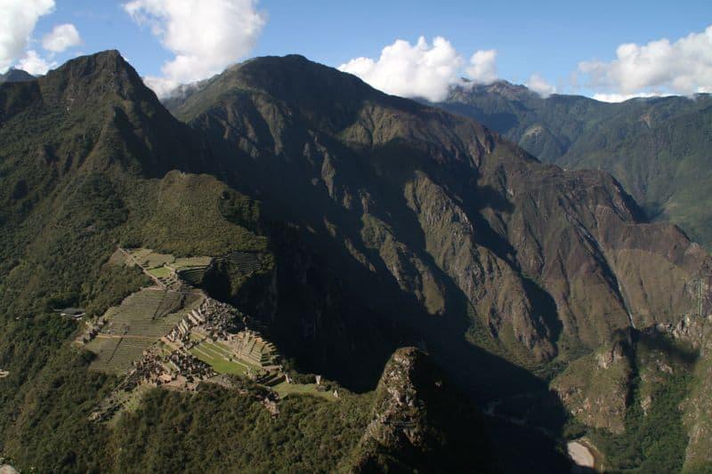 Machu Picchu from Waynu Picchu