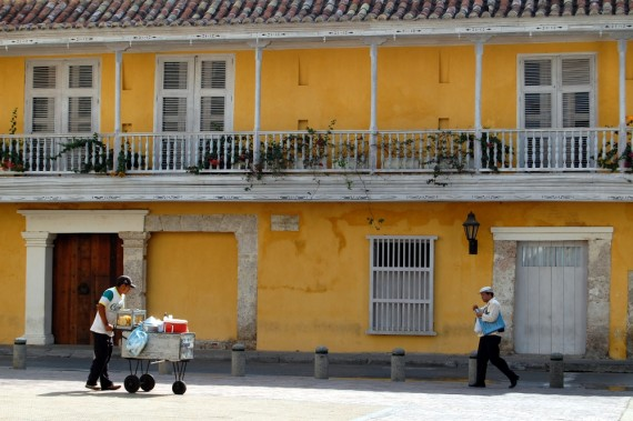 Morning in Cartagena, Colombia