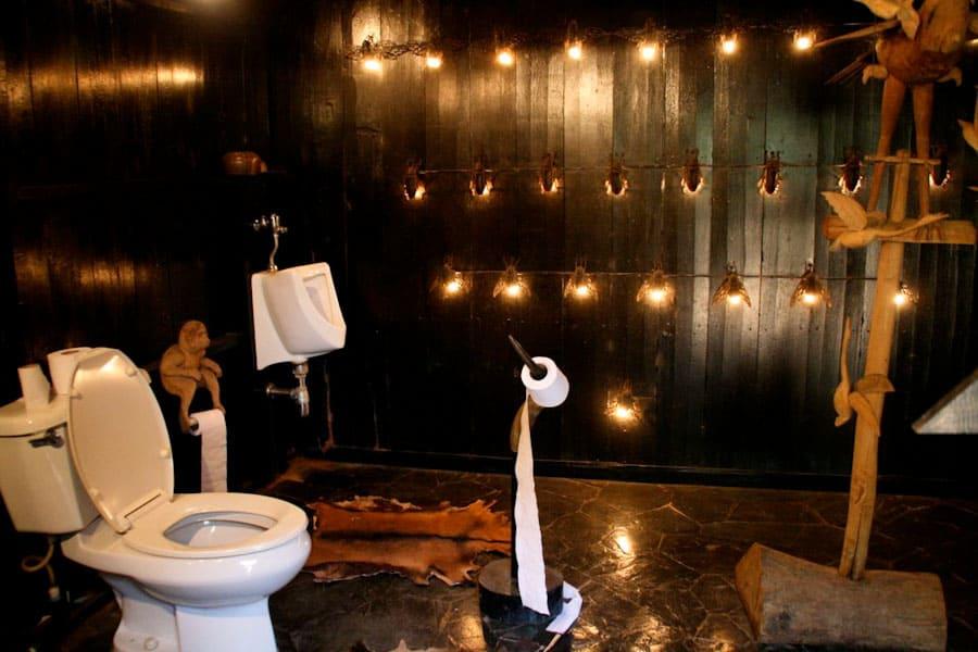 Toilet, Black House, Chiang Rai
