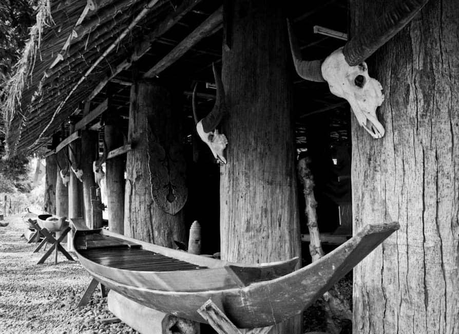 Boat, Black House, Chiang Rai, Thailand