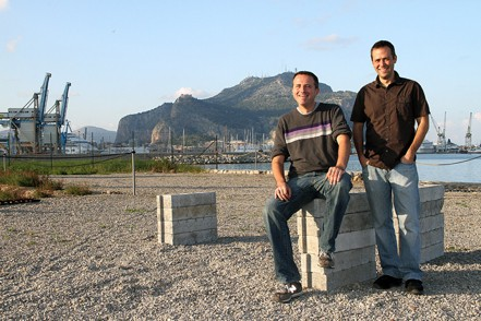 Mike and Juergen in Sicily