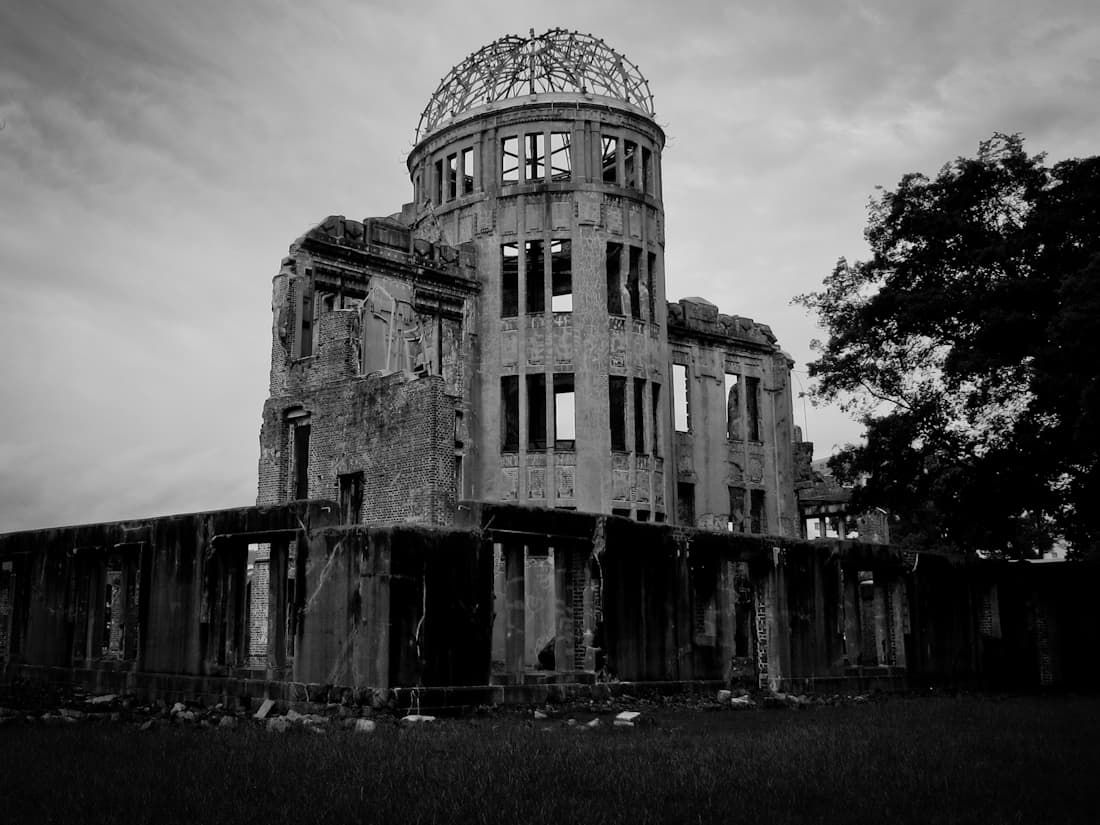 Ruin of Hiroshima Prefectural Industrial Promotion Hall
