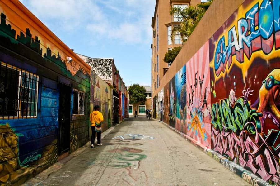 Graffiti, The Mission, San Francisco