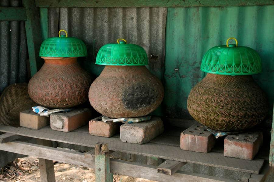 Water pots Burma