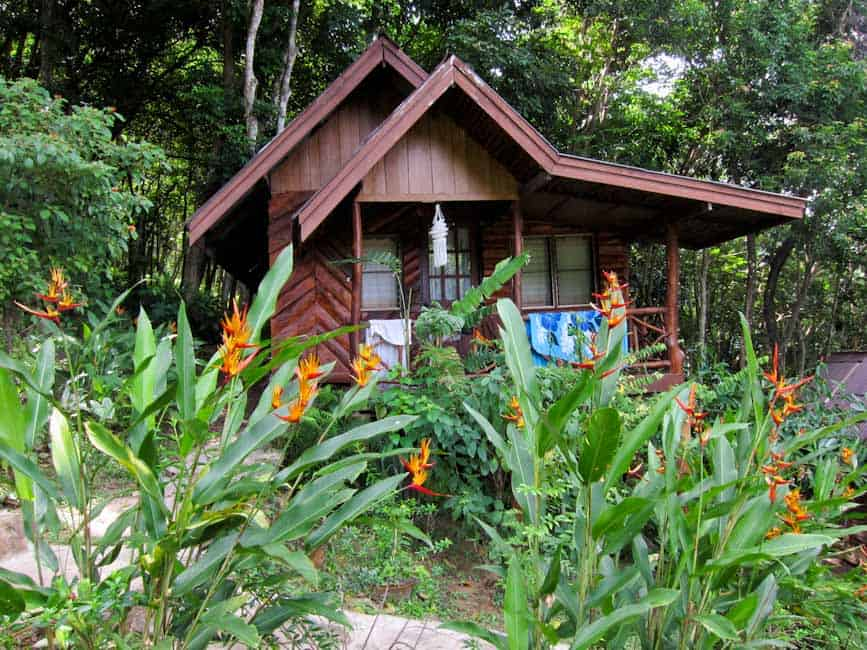 Our bungalow at Ting Rai Bay