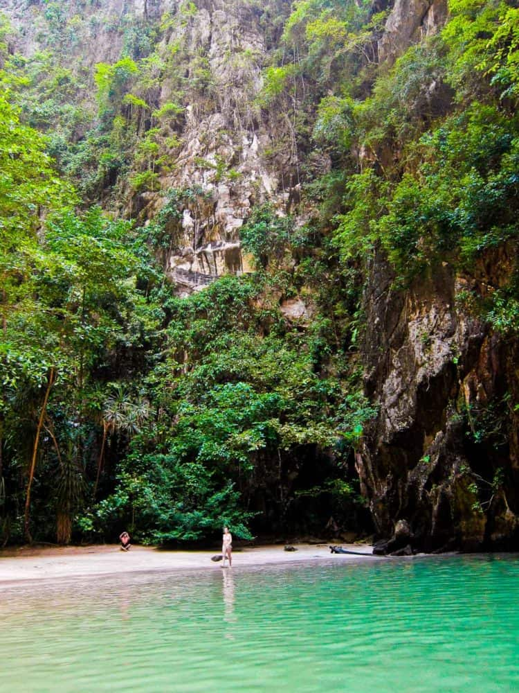 Emerald Cave Koh Mook on a day trip from Koh Lanta with Freedom Adventures