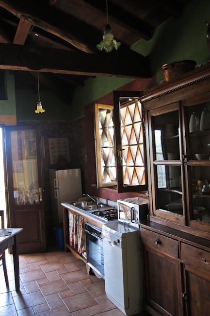 Al Benefizio kitchen