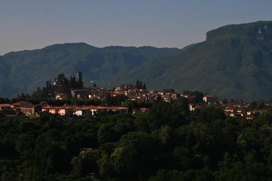 View of Barga from Al Benefizio