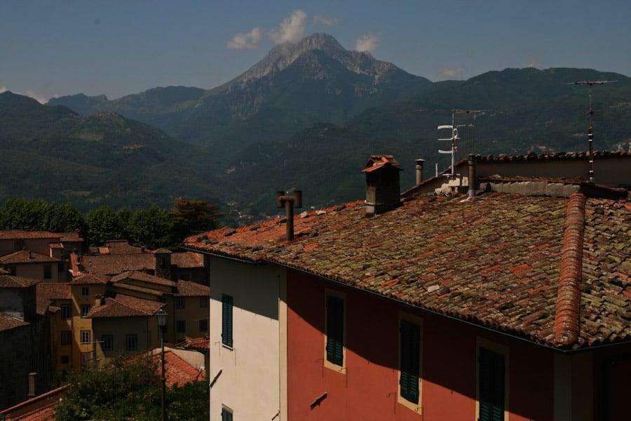 Barga view from Duomo
