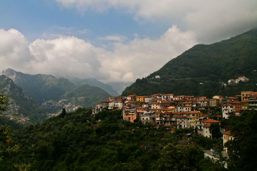 Road Trip on SP4 in Garfagnana