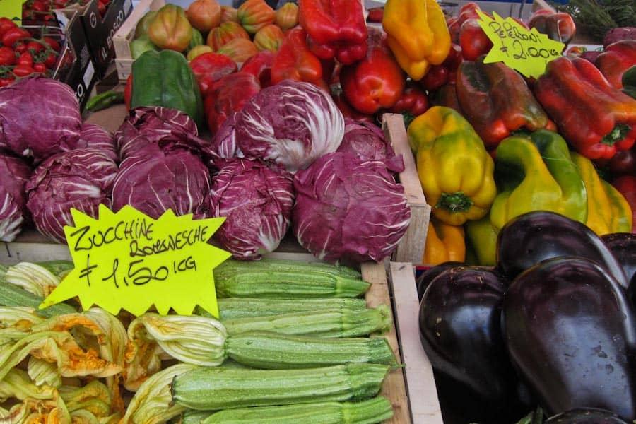 Testaccio Market stall