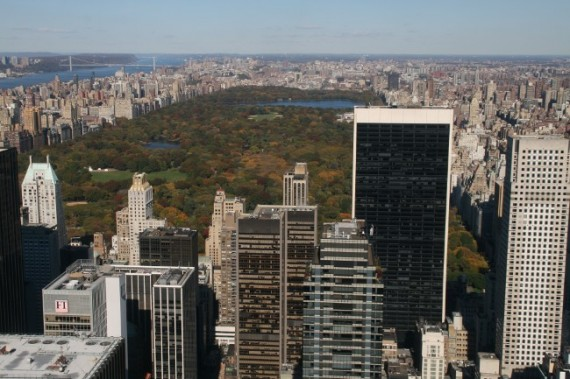 View of Central Park, New York