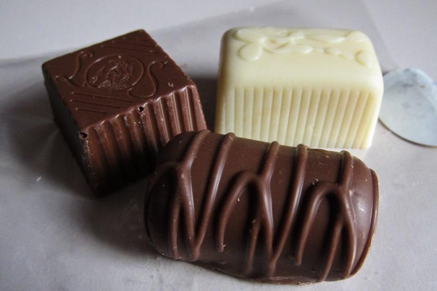Chocolates from Leonidas