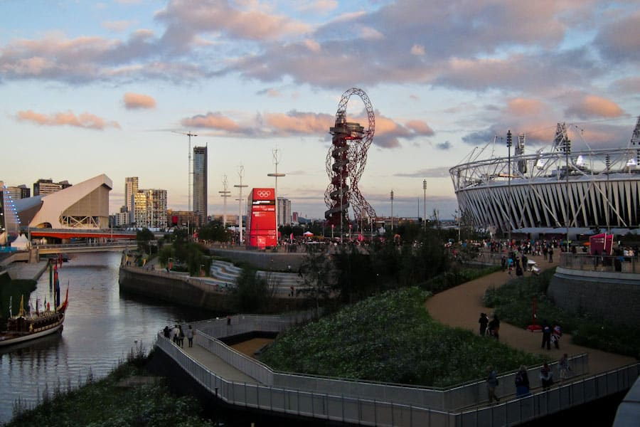 Olympic Park sunset