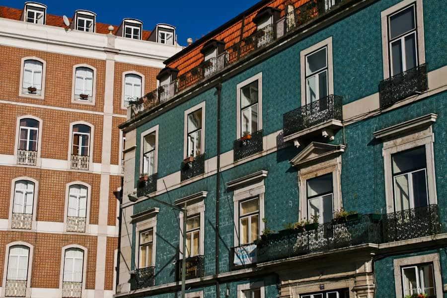 Azulejos in Lisbon 2