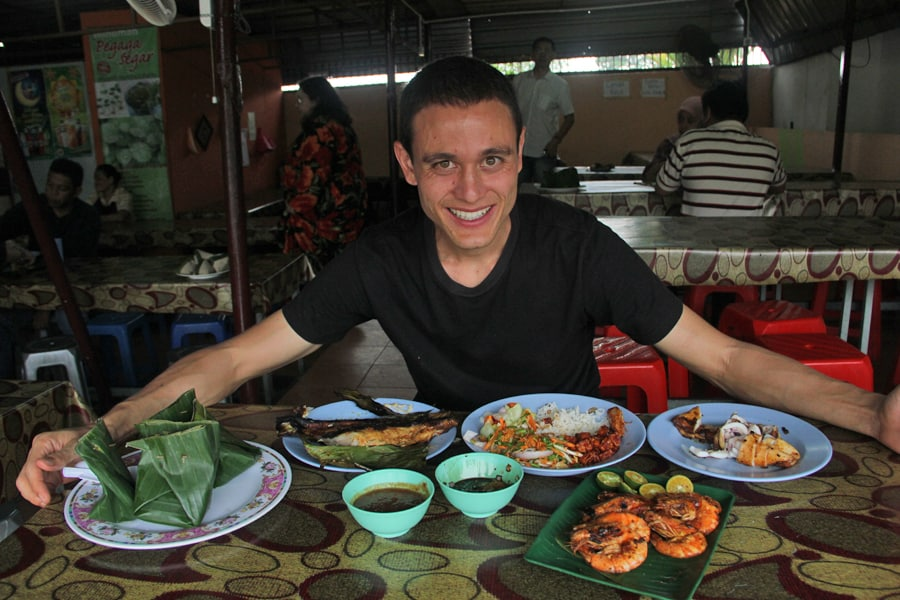 Mark Wiens in Malaysia