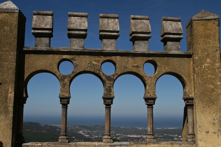 Arches at Pena Palace