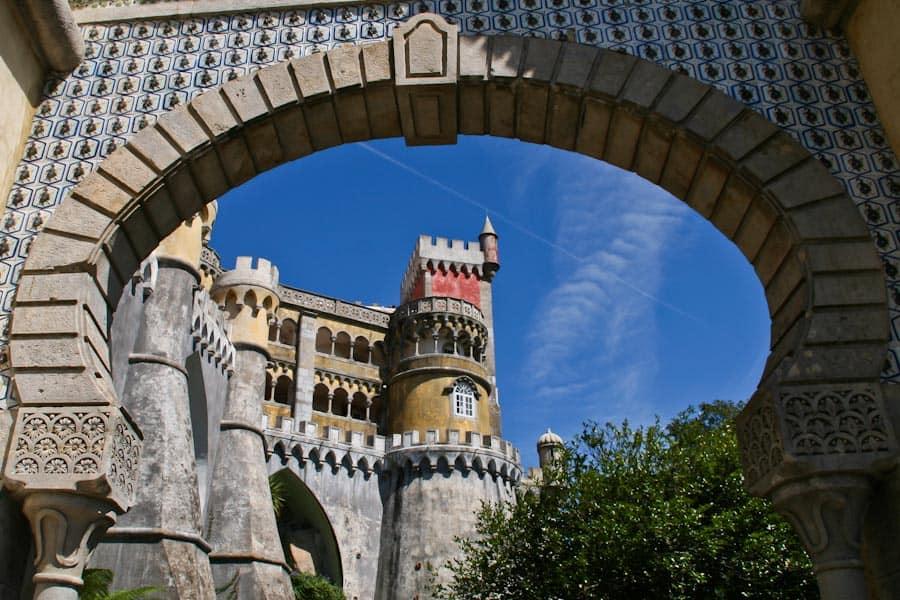 Pena palace archway