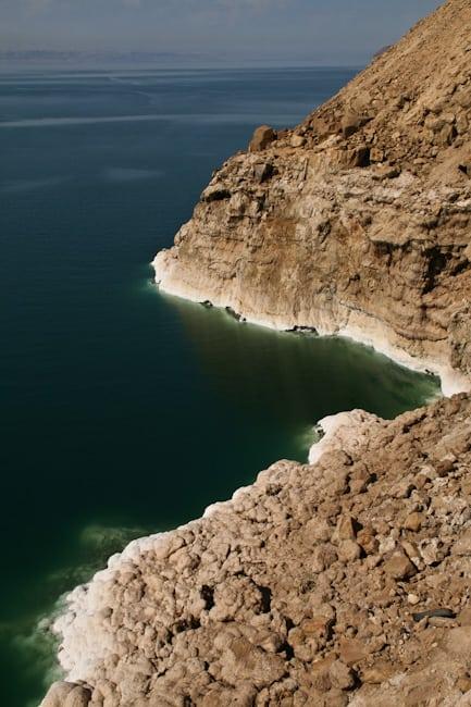 Dead Sea, Jordan from above