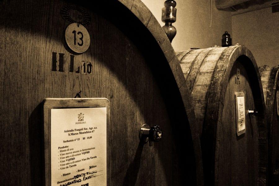 Fongoli barrels
