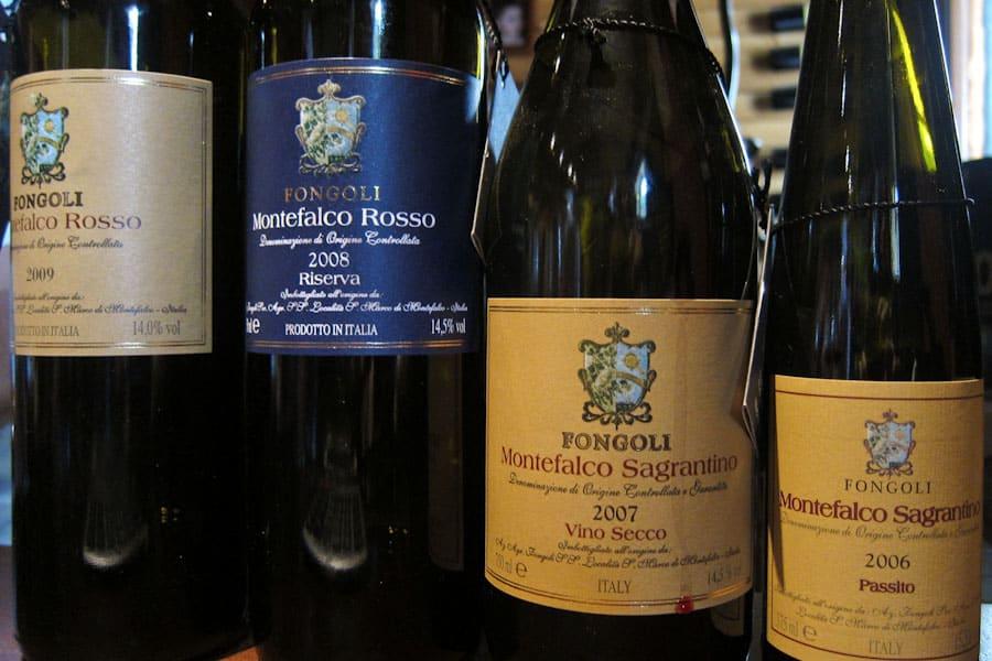 Fongoli wines